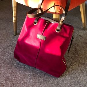UGG Raspberry Suede Tote